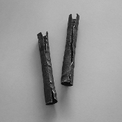 'Bark' Sterling Silver Earrings