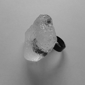 Sterling Silver and Bio Resin Ring